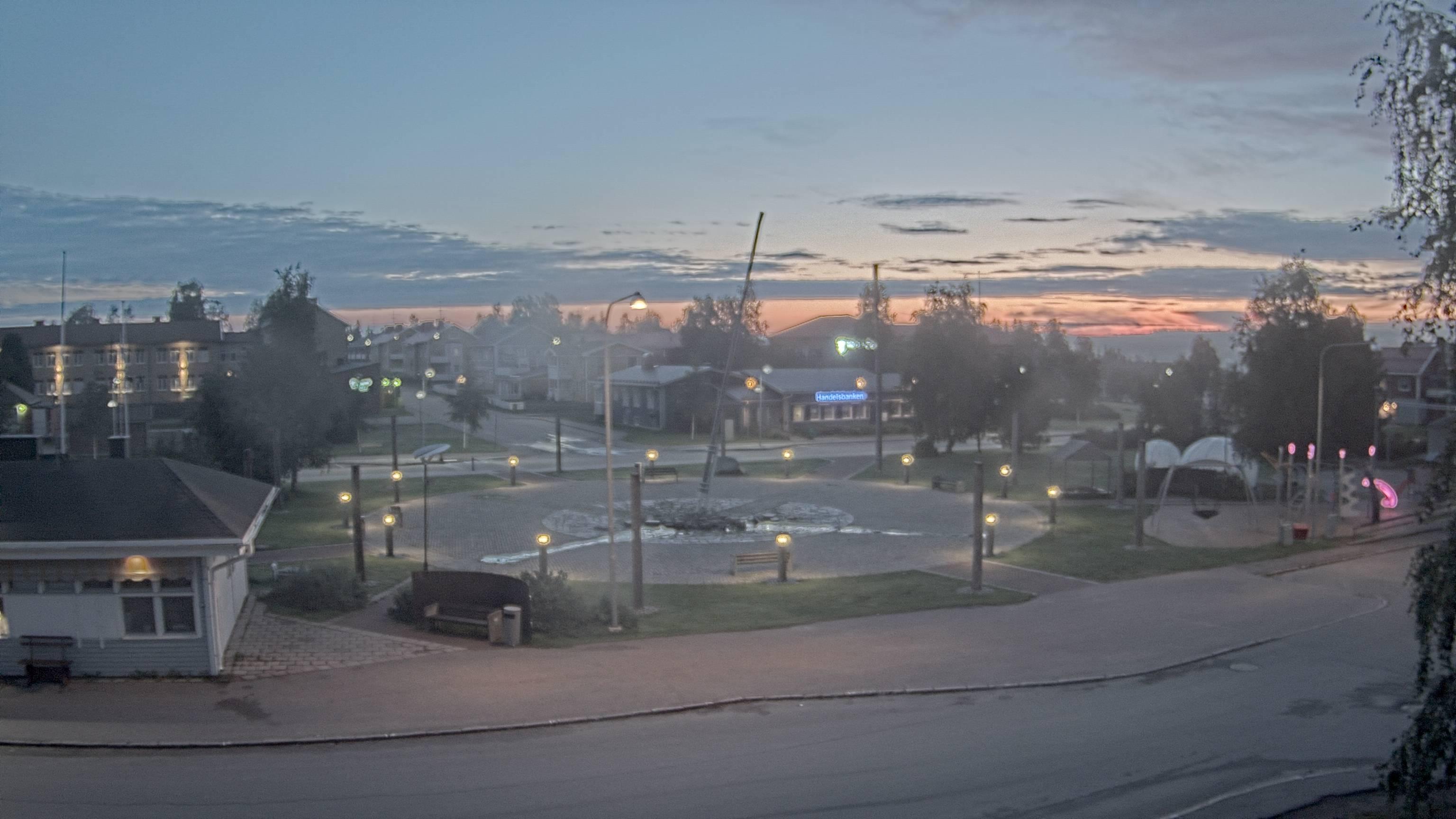 Webcam Pajala, Pajala, Norrbotten, Schweden